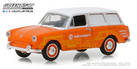 Volkswagen Tipo 3 Furgoneta - Volkswagen Sales and Service (1966) Greenlight 1/64
