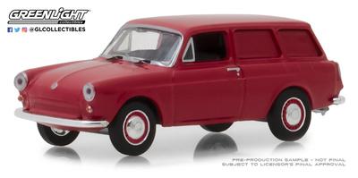 Volkswagen Tipo 3 Panelada (1968) Greenlight 1/64