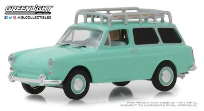 Volkswagen Tipo 3 Squarebck (1965) Greenlight 1/64