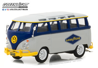 Volkswagen Type 1 Samba Bus Goodyear Tires Greenlight 1/64
