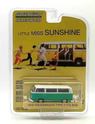 Volkswagen Type 2 Bus de 1978 Little Miss Sunshine (2006) Green Machine 1/64