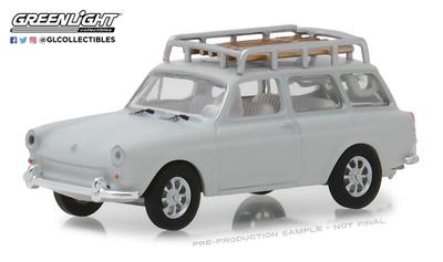 Volkswagen Type 3 Squareback (1968) Greenlight 1/64