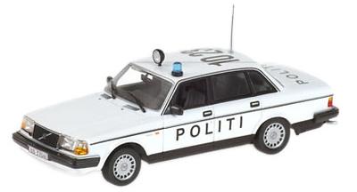 """Volvo 240 GL """"POLITI"""" Minichamps 1/43"""