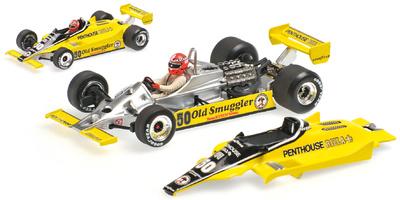 "Williams FW07 ""GP. Austria"" nº 50 Rupert Keegan (1980) Minichamps 1:43"