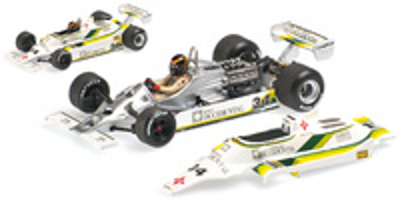 "Williams FW07 ""GP. España"" nº 34 Emilio de Villota (1980) Minichamps 1:43"