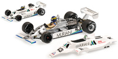 "Williams FW07 ""GP. Gran Bretaña"" nº 43 Desiree Wilson (1980) Minichamps 1:43"