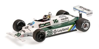 Williams FW07B nº 28 Carlos Reutemann (1980) Minichamps 1:18