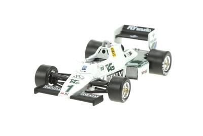 Williams FW08C nº 1 Keke Rosberg (1983) Sol90 1:43