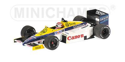 "Williams FW10 ""Test Paul Ricard"" nº 5 Nelson Piquet (1985) Minichamps 1/43"