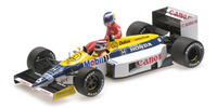 "Williams FW11 ""GP. Alemania"" nº 6 Nelson Piquet con Keke Rosberg (1986) Minichamps 1:18"