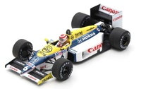 "Williams FW11 ""GP. Brasil"" nº 6 Nelson Piquet (1986) Spark 1/43"