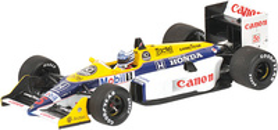 "Williams FW11B ""GP. Australia"" nº 5 Ricardo Patrese (1987) Minichamps 1/43"