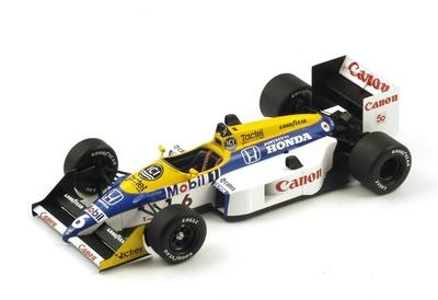 "Williams FW11B ""GP. Japón"" nº 6 Nelson Piquet (1987) Spark 1:18"