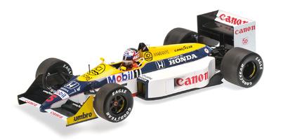 Williams FW11B nº 5 Nigel Mansell (1987) Minichamps 1:18