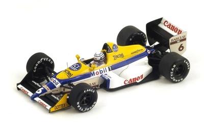 "Williams FW12 ""GP. Mónaco"" nº 6 Riccardo Patrese (1988) Spark 1:43"