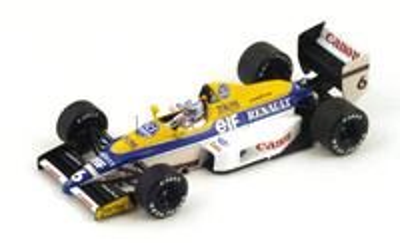 "Williams FW12C ""2º GP. USA"" 1989 nº 6 Riccardo Patrese (1989) Spark 1:43"