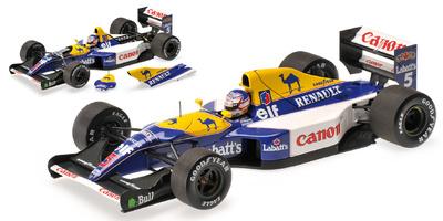 Williams FW14 nº 5 Nigel Mansell (1992) Minichamps 1/18