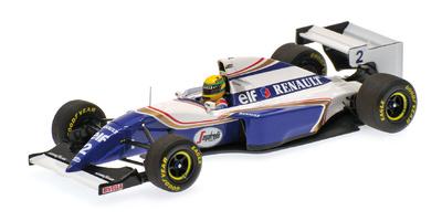 "Williams FW16 ""GP. Pacífico"" nº 2 Ayrton Senna (1994) Minichamps 1:43"
