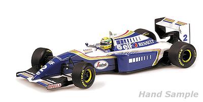 Williams FW16 nº 2 Ayrton Senna (1994) Minichamps 1:12