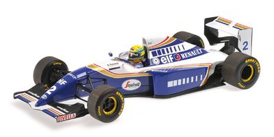 Williams FW16 nº 2 Ayrton Senna (1994) Minichamps 1/18
