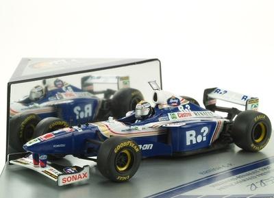 """Williams FW19 """"GP. Gran Bretaña"""" nº 4 Heinz-Herald Frentzen (1997) Onyx 1/43"""