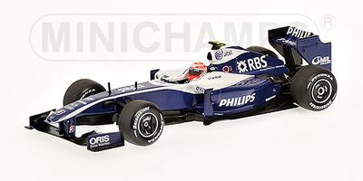 Williams FW31 nº 17 Kazuki Nakajima (2009) Minichamps 1/43
