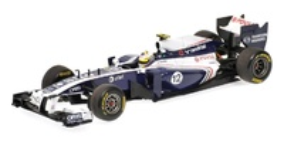 Williams FW33 nº 12 Pastor Maldonado (2011) Minichamps 1/43