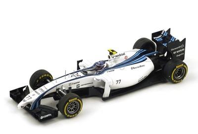 "Williams FW36 ""3º GP. Abu Dhabi"" nº 77 Valtteri Bottas (2014) Spark 1:43"