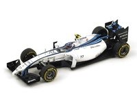 "Williams FW36 ""3º GP. Abu Dhabi"" nº 77 Valtteri Bottas (2014) Spark S3144 1:43"