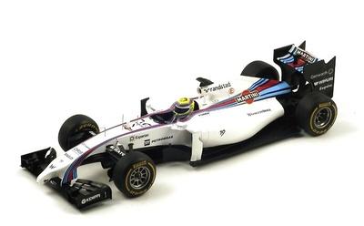 "Williams FW36 ""GP. Malasia"" nº 19 Felipe Massa (2014) Spark 1:18"