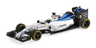 "Williams FW37 ""GP. Abu Dhabi"" nº 19 Felipe Massa (2015) Minichamps 1:43"
