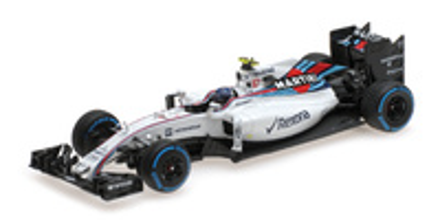 "Williams FW38 ""GP. Brasil"" nº 77 Valtteri Bottas (2016) Minichamps 1:43"
