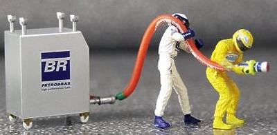Williams Pitstop Carga Gasolina (2002) Minichamps 1/43