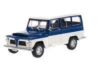 Willys Rural (1968) White Box 1:43