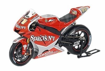 "Yamaha YZR-M1 ""Team Fortuna"" nº 11 Ruben Xaus (2005) Minichamps 1/12"