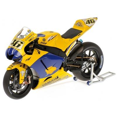 "Yamaha YZR-M1 ""Versión final de carrera"" nº 46 Valentino Rossi (2006) Minichamps 1/12"