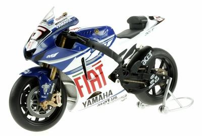 Yamaha YZR-M1 nº 5 Colin Edwards (2007) Altaya 1/12