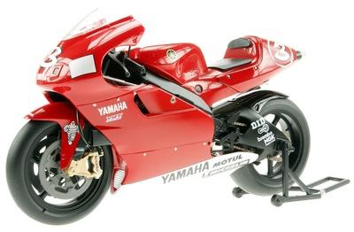 Yamaha YZR500 nº 3 Max Biaggi (2001) Altaya 1/12