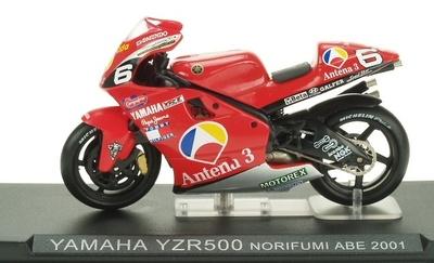 Yamaha YZR500 nº 6 Norifumi Abe (2001) Altaya 1/24