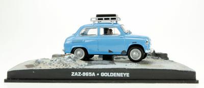 "ZAZ 965A (1960) James Bond ""Golden Eye"" Fabbri 1/43 Entrega 36"